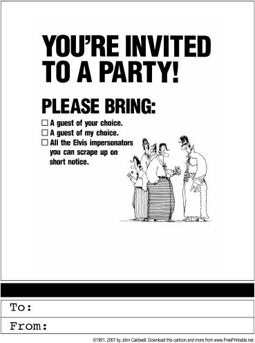 Party Invitations A Life Of Significance